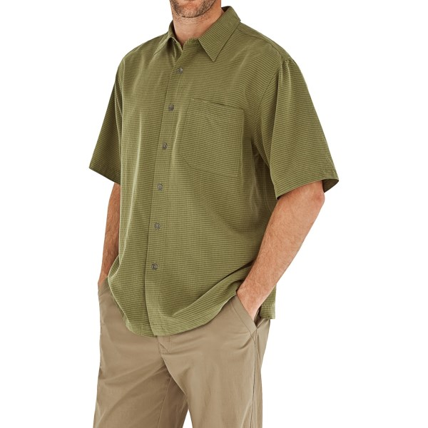 Royal Robbins Desert Pucker Shirt - UPF 25 , Short Sleeve (For Men)