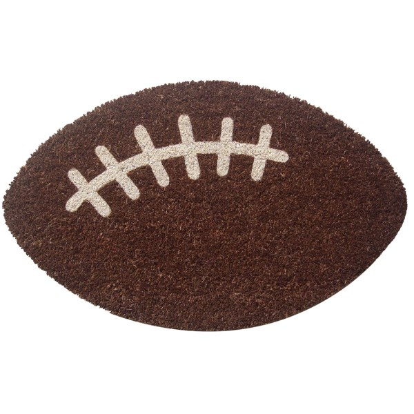 Entryways Coir Football Entry Door Mat