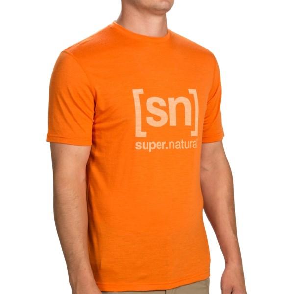 Super.natural Essential 140 Logo T-shirt - Short Sleeve (for Men)