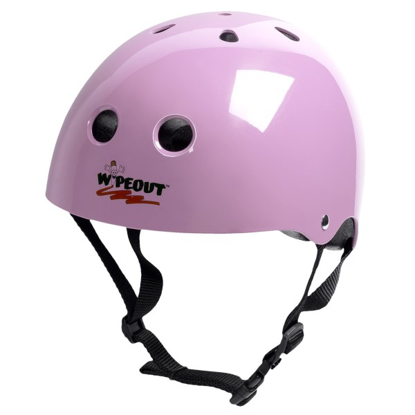 CLOSEOUTS . Ride you bike, blades or board with your own custom style in the Triple Eight Wipeout Dry Erase bike helmet. Make your own designs with the included dry erase markers, wipe them away and do it all over again. Whatever your flavor, you can creatively switch it up instantly with this helmet. Available Colors: BLACK, PINK, WHITE, NEON GREEN. Sizes: S, M, L.