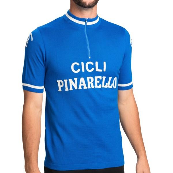 De Marchi Heritage Cycling Jersey - Zip Neck, Short Sleeve (For Men)