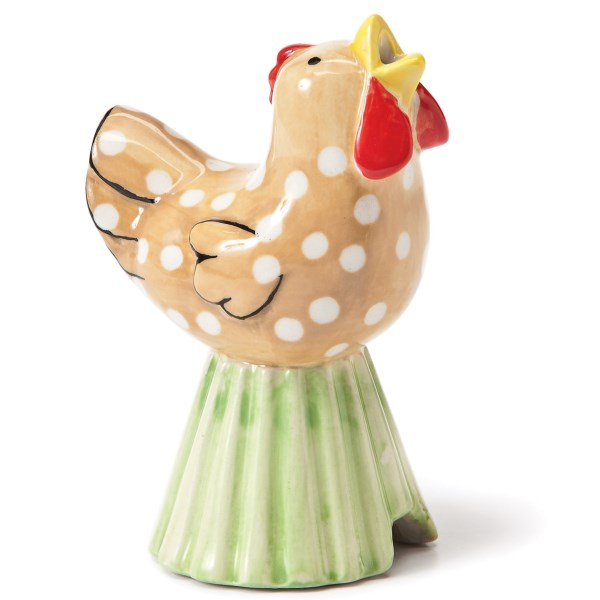 CLOSEOUTS . Sometimes known as a pie whistle and a great little tool for venting steam from double-crusted fruit pies, this Big Sky Carvers pie bird is an adorable porcelain accessory for the resident pie baker. Available Colors: CHICKEN.