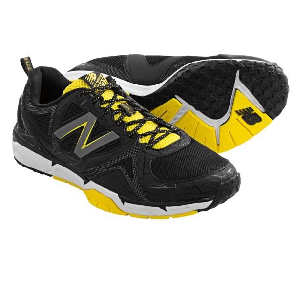 CLOSEOUTS . Masters of multi-tasking and quick-change workouts, New Balanceand#39;s 797v3 cross training shoes feature QUIX technology for enhanced flexibility during lateral movements and a lugged, non-marking sole for reliable traction indoors or out. Available Colors: BLACK/YELLOW. Sizes: 8, 8.5, 9, 9.5, 10, 10.5, 11, 11.5, 13, 14.