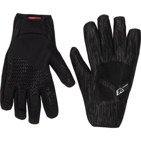 ERGOknit Windstopper(R) Lightweight Gloves (For Women) - BLACK (M )