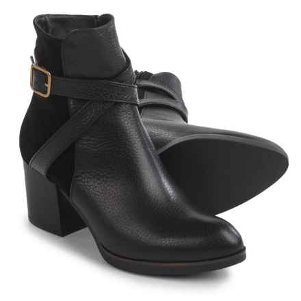Eric Michael Desi Boots - Leather (For Women) in Black - Closeouts
