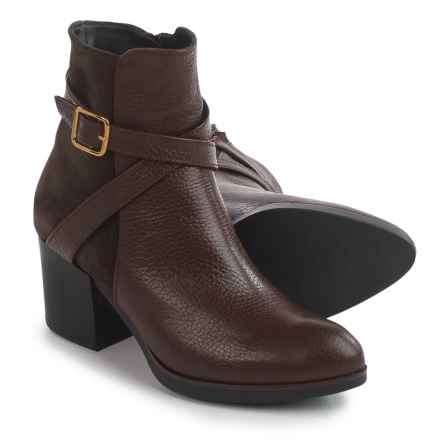 Eric Michael Desi Boots - Leather (For Women) in Brown - Closeouts
