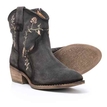 Eric Michael Georgia Boots - Suede (For Women) in Grey - Closeouts