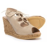 Eric Michael Gossip Wedge Sandals - Leather (For Women)