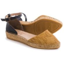 Eric Michael Iguana Espadrille Sandals (For Women) in Tan Nubuck - Closeouts