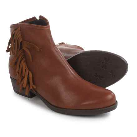 Eric Michael Jackie Boots - Leather (For Women) in Tan Leather - Closeouts
