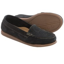 Eric Michael Krissy Loafers - Leather (For Women) in Black - Closeouts