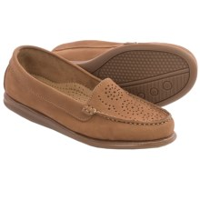 Eric Michael Krissy Loafers - Leather (For Women) in Brown - Closeouts