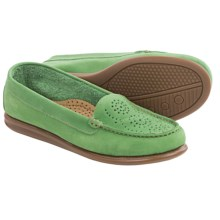 Eric Michael Krissy Loafers - Leather (For Women) in Green Leaf - Closeouts