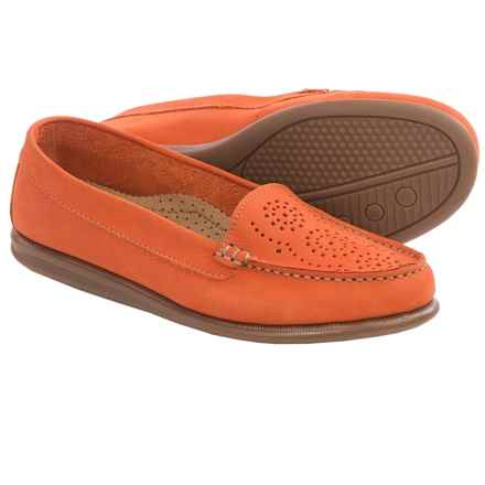 Eric Michael Krissy Loafers - Leather (For Women) in Orange - Closeouts