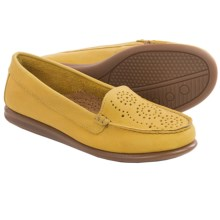 Eric Michael Krissy Loafers - Leather (For Women) in Yellow - Closeouts