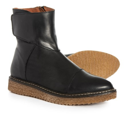 28ca2474cc3b Eric Michael Made in Portugal Helen Mid Boots - Leather (For Women) in Black