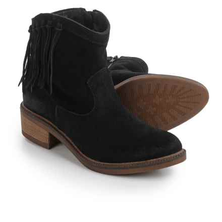Eric Michael Madera Boots - Suede (For Women) in Black - Closeouts