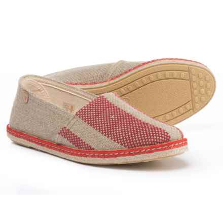 Eric Michael Matilda Shoes (For Women) In Red/Beige   Closeouts