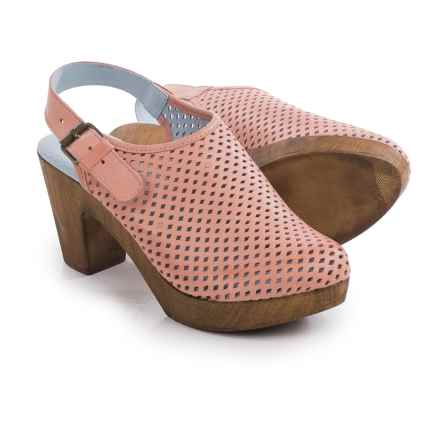 Eric Michael McKenzie Mule Shoes - Leather (For Women) in Melon - Closeouts