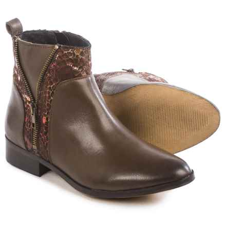 Eric Michael Modena Ankle Boots - Leather (For Women) in Brown - Closeouts