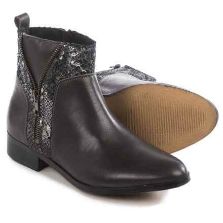 Eric Michael Modena Ankle Boots - Leather (For Women) in Grey - Closeouts