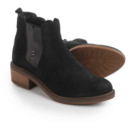 Eric Michael Montreal Boots - Suede (For Women) in Black - Closeouts