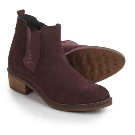 Eric Michael Montreal Boots - Suede (For Women) in Bordeaux - Closeouts