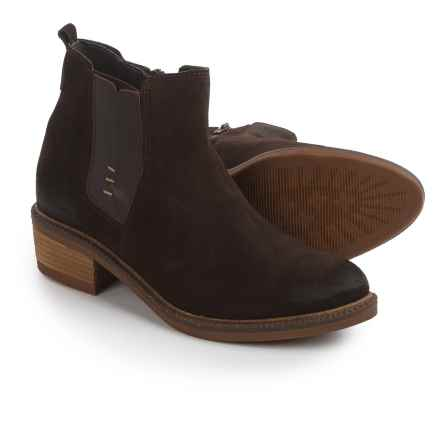 Eric Michael Montreal Boots - Suede (For Women) in Brown - Closeouts