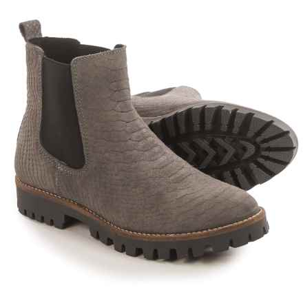 Eric Michael Norfolk Chelsea Boots - Suede (For Women) in Grey - Closeouts
