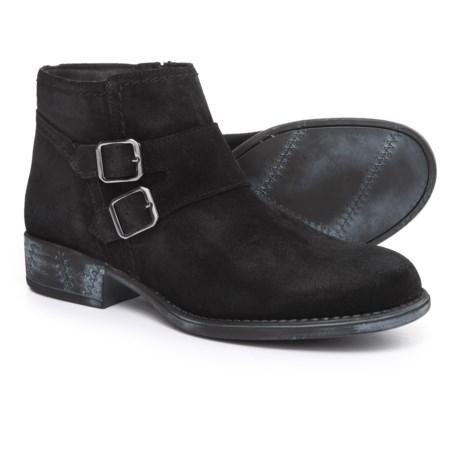 Eric Michael Revi Booties - Suede (For Women) in Black