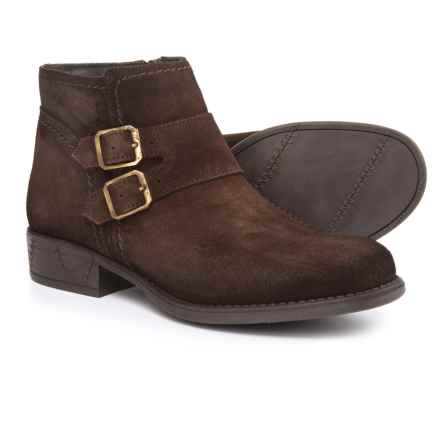 Eric Michael Revi Booties - Suede (For Women) in Brown - Closeouts