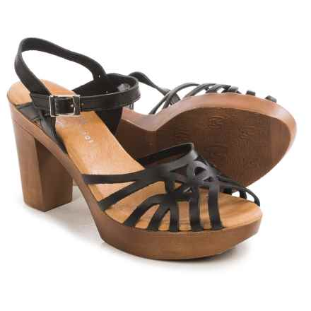 Eric Michael Rosie Sandals - Leather (For Women) in Black - Closeouts