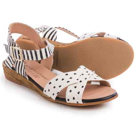 Eric Michael Sabrina Sandals (For Women) in Dots - Closeouts