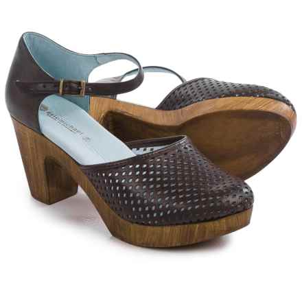 Eric Michael Sadie Clogs - Leather (For Women) in Brown - Closeouts