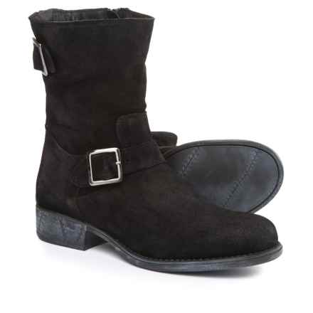 Eric Michael Sanibel Boots - Suede (For Women) in Black - Closeouts