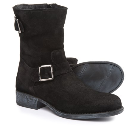 Eric Michael Sanibel Boots - Suede (For Women) in Black