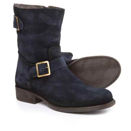 Eric Michael Sanibel Boots - Suede (For Women) in Blue - Closeouts