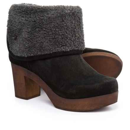 Eric Michael Yasmine Boots - Suede (For Women) in Black - Closeouts
