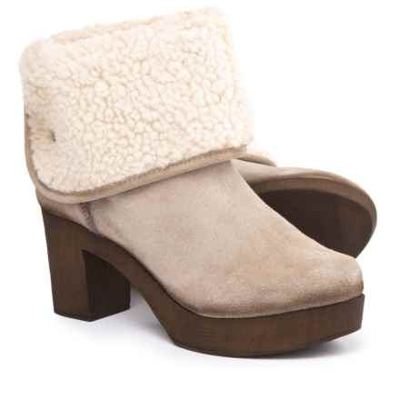 Eric Michael Yasmine Boots - Suede (For Women) in Taupe - Closeouts