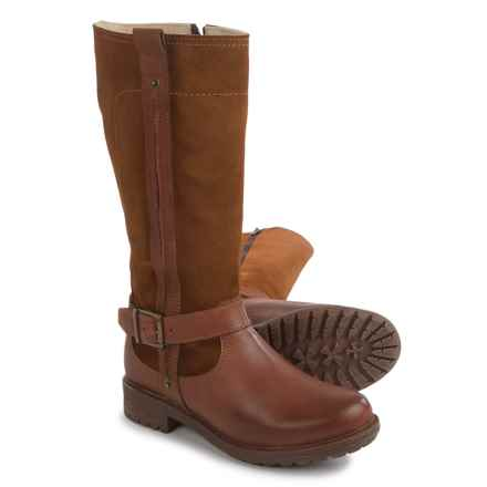 Eric Michael Zurich Tall Boots - Waterproof, Leather (For Women) in Tan Nubuck - Closeouts
