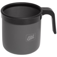 Esbit Aluminum Camping Mug - 12 fl.oz. in Matte Grey - Closeouts