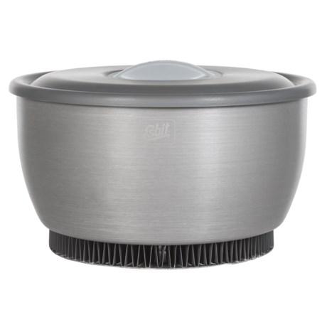 Esbit Cookset with Heat Exchanger - 2.35L in Matte Grey