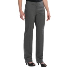 Escada Light Stretch Wool Pants (For Women) in Grey - Closeouts