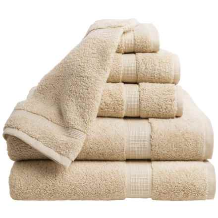 Espalma 700 Series Bath Towel Set - 6-Piece Set in Sand - Closeouts