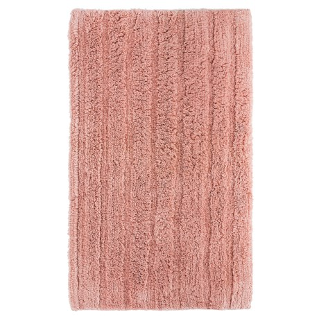 Espalma Cotton-Rayon Bath Rug in Bisque