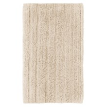 Espalma Cotton-Rayon Bath Rug in Ivory - Closeouts