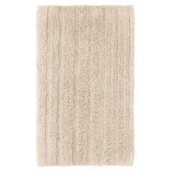 Espalma Cotton-Rayon Bath Rug in Ivory