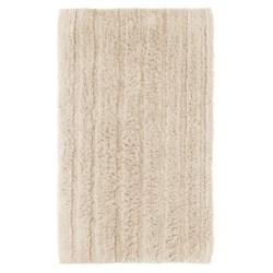 Espalma Cotton-Rayon Bath Rug in White