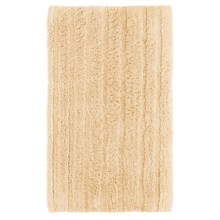 Espalma Cotton-Rayon Bath Rug in Light Honey - Closeouts