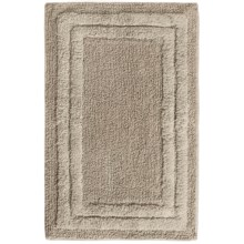 "Espalma Deluxe Cotton Bath Rug - 20x32"" in Pearl Gray - Overstock"